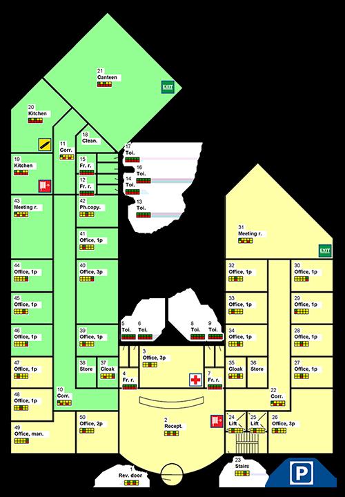 dataknowhow-grundplan-tegning-om-rengoeringssystemet